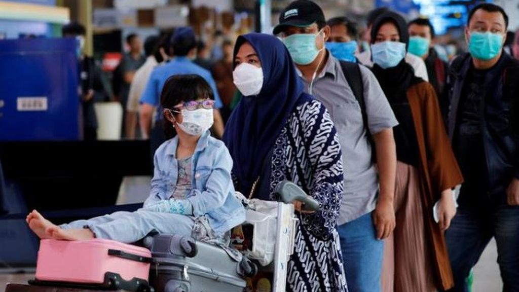 Aeropuerto de Jakarta, en Indonesia