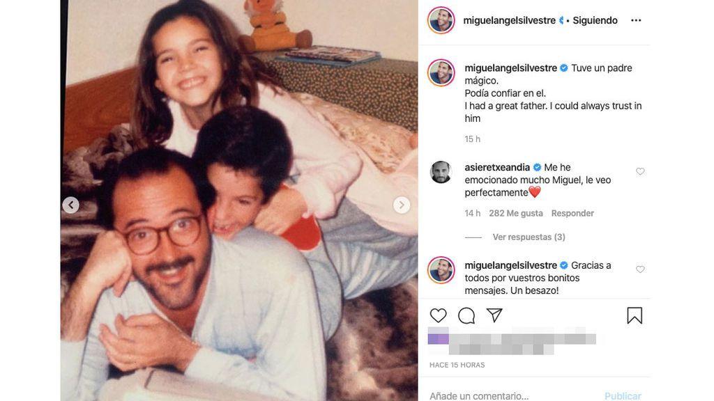 Miguel Ángel Silvestre cuenta cómo perdió la virginidad