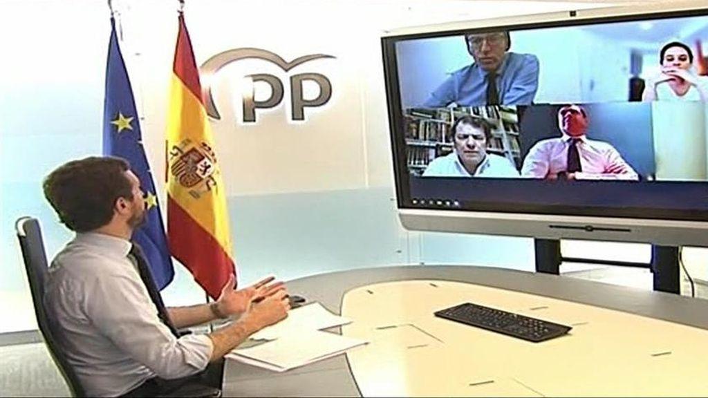 """Casado pide al Gobierno """"lealtad en las dos direcciones"""" porque la Fiscalía sólo investiga los geriátricos del PP"""