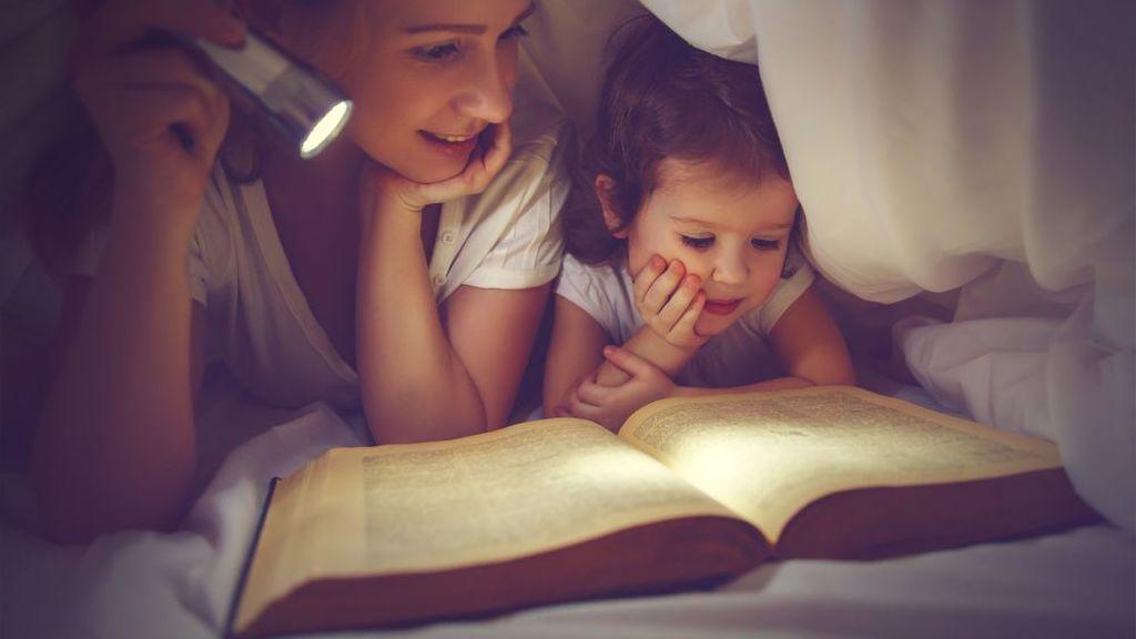 Los libros de cuentos serán tu mejor aliado para hacer que los niños se duerman.