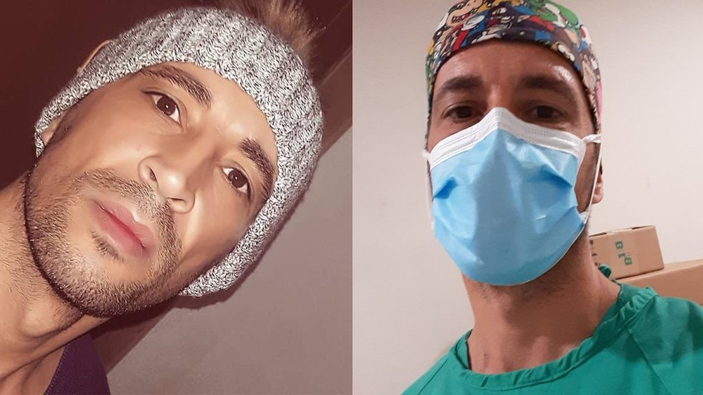 """Israel Pita cuenta lo que vive en el hospital por el coronavirus: """"Lo que más echamos en falta es tu generosidad"""""""