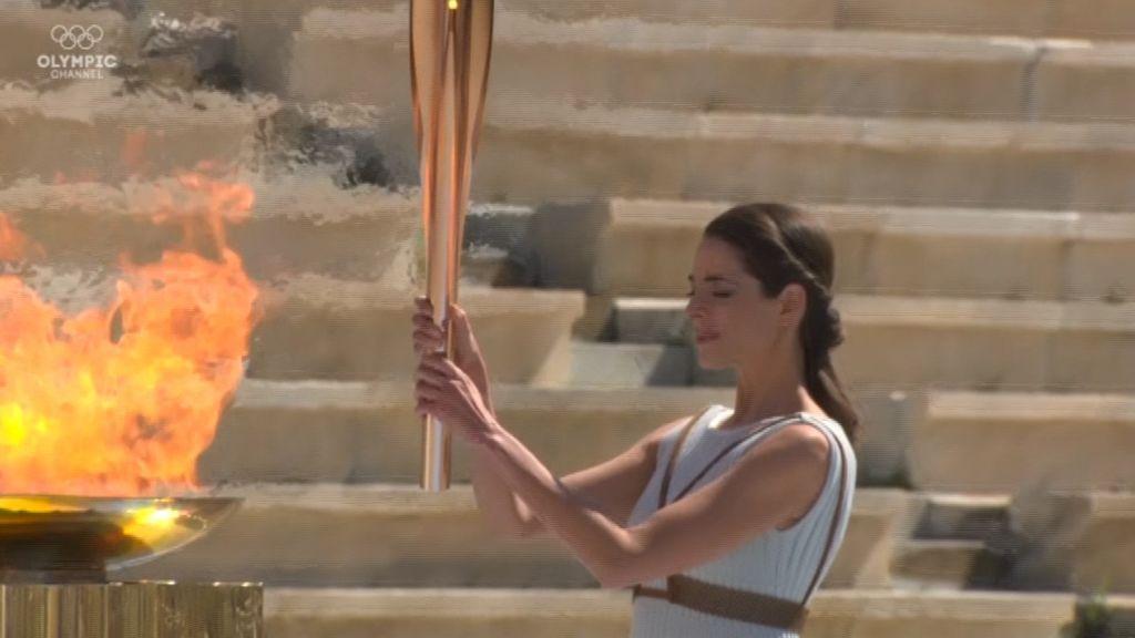 La antorcha olímpica llega a Japón