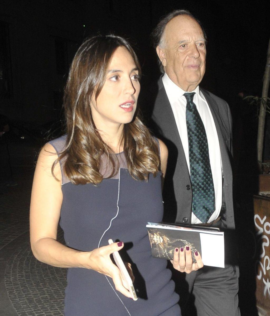 Tamara Falcó y su padre, en una foto de archivo