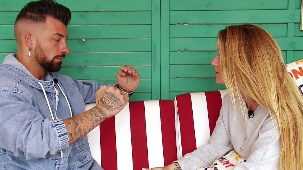 Los nervios le está jugando una mala pasada a Esther en la casa: Rubén no sabe si quiere seguir conociéndola
