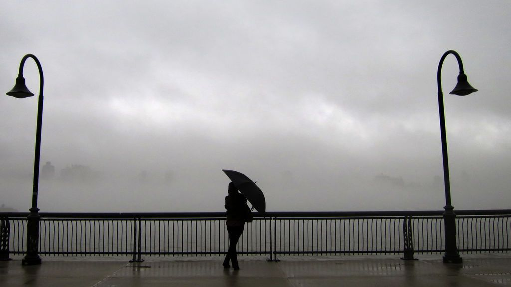 Lluvias y viento: el primer lunes de primavera viene revuelto