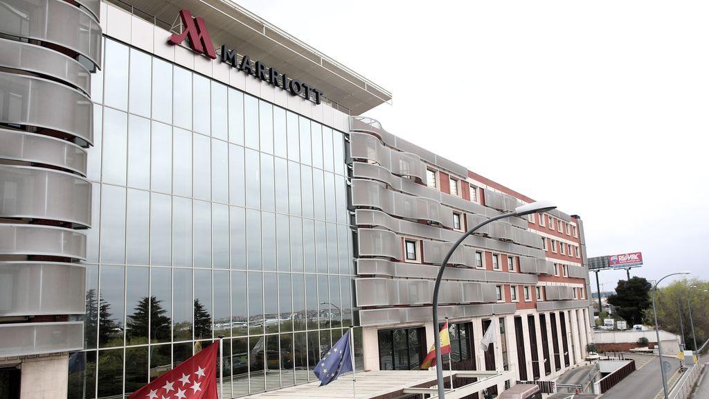 Once hoteles medicalizados en Madrid y Barcelona descongestionan unos hospitales al límite