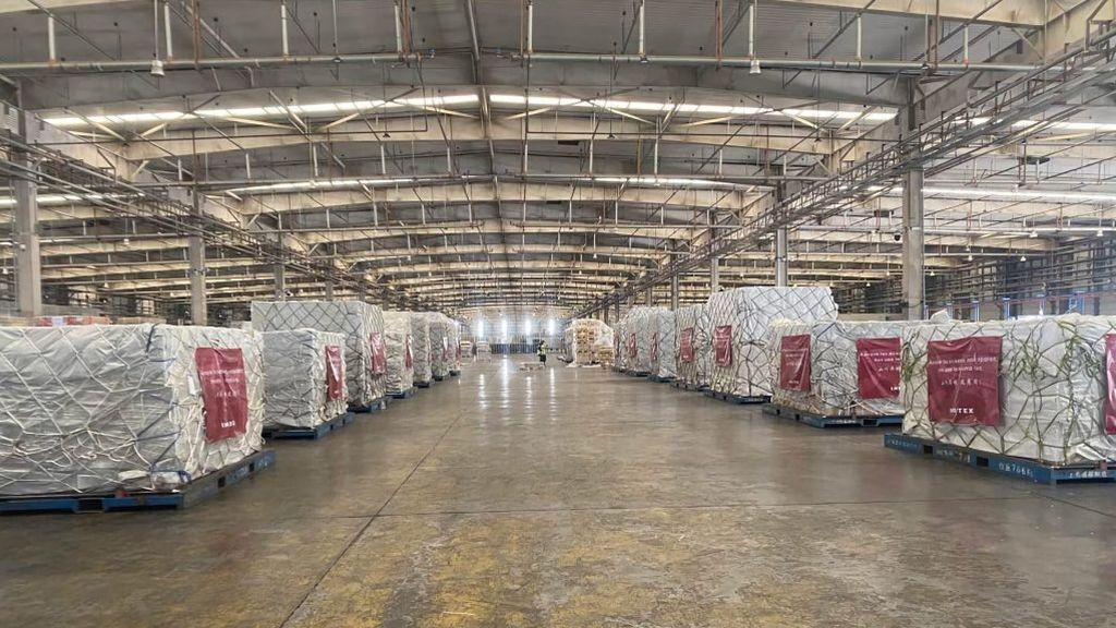 Inditex ya tiene preparado el primer envío de material sanitario desde China