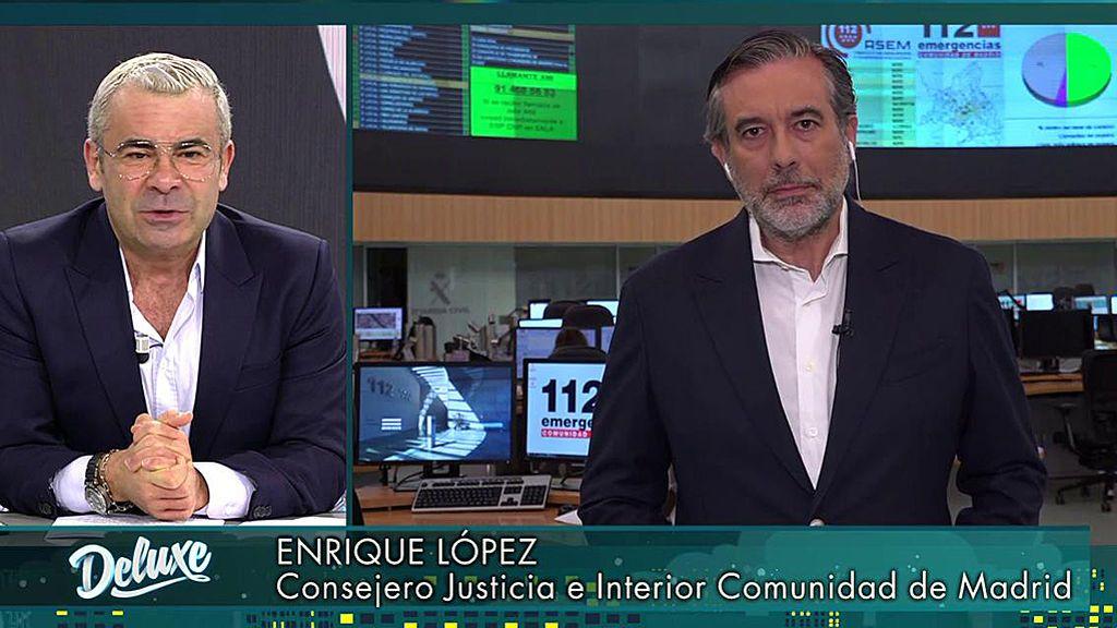Entrevista al Consejero de Justicia e Interior de la Comunidad de Madrid