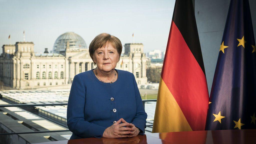 Merkel, en cuarentena preventiva por riesgo de coronavirus
