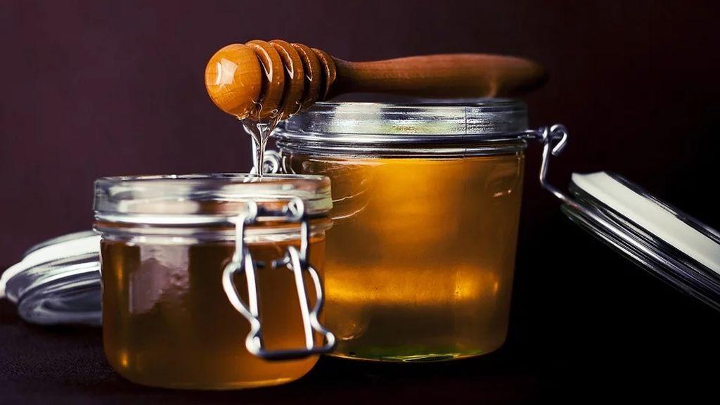 miel, yogurt y pepino