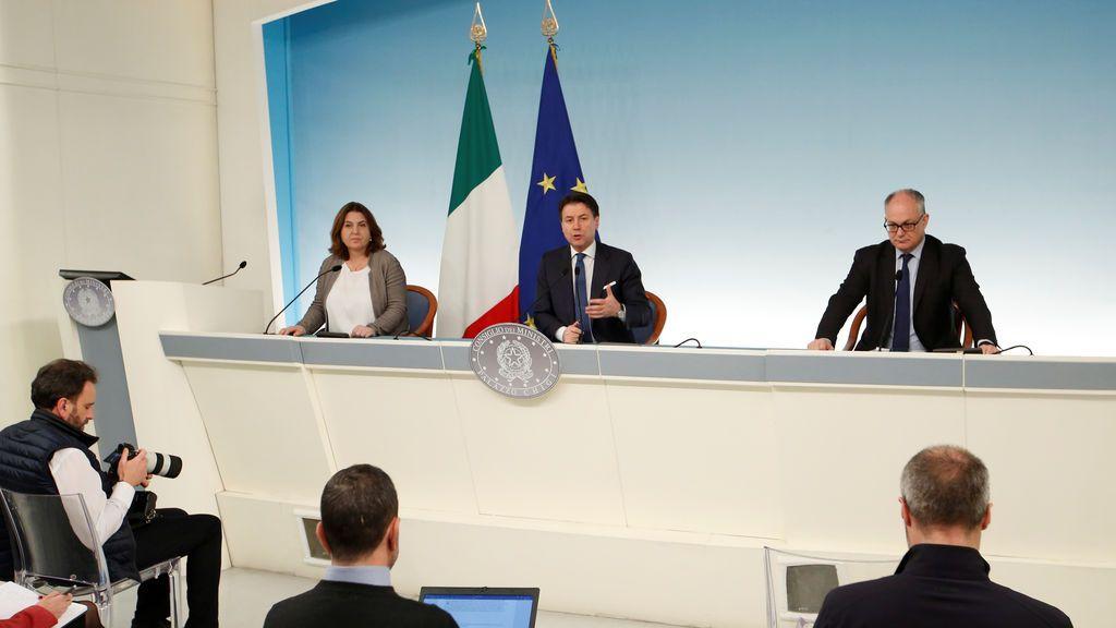Italia para las fábricas y toda la actividad que no sea esencial