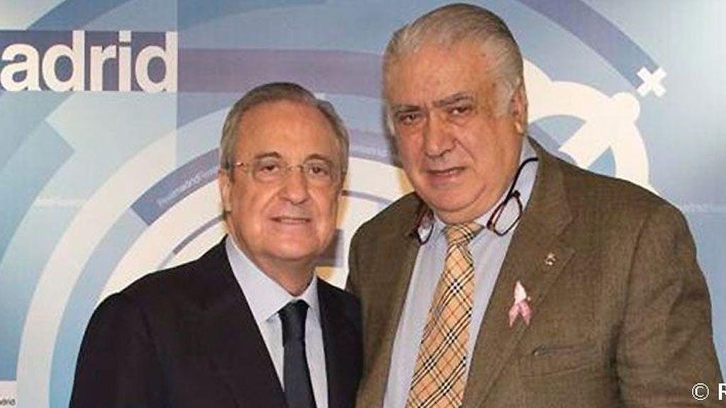"""Florentino Pérez: """"Recordaremos a Lorenzo Sanz como el presidente que nos devolvió la ilusión y la alegría"""""""
