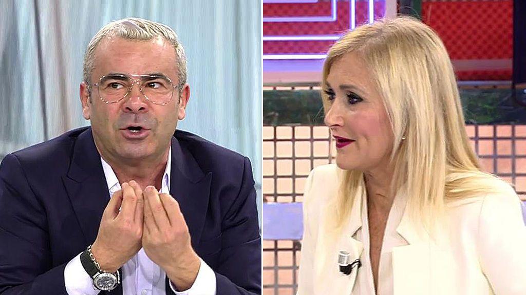 Choque de opiniones entre Jorge Javier y Cristina Cifuentes