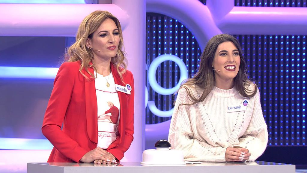 María y Estefanía El concurso del año Temporada 1 Programa 385