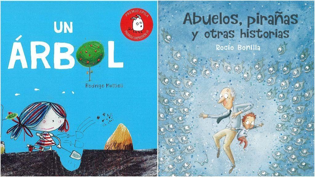 'Un árbol' y 'Abuelos, pirañas y otras historias'.