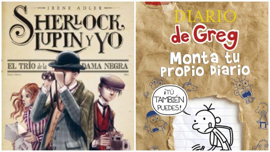 'Sherlock Holmes' y 'Diario de Greg: monta tu propio diario'.
