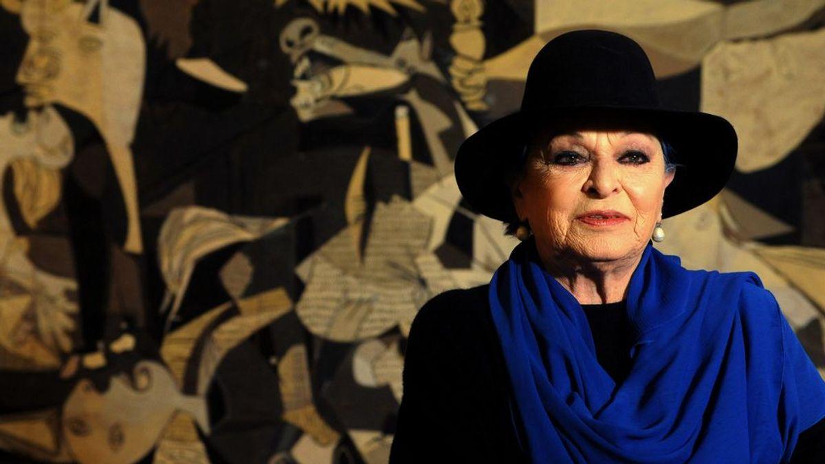 """Lucía Bosé: """"No quiero ser abuela ni viejita, tengo mi mundo de fantasía, mi niña dentro"""""""