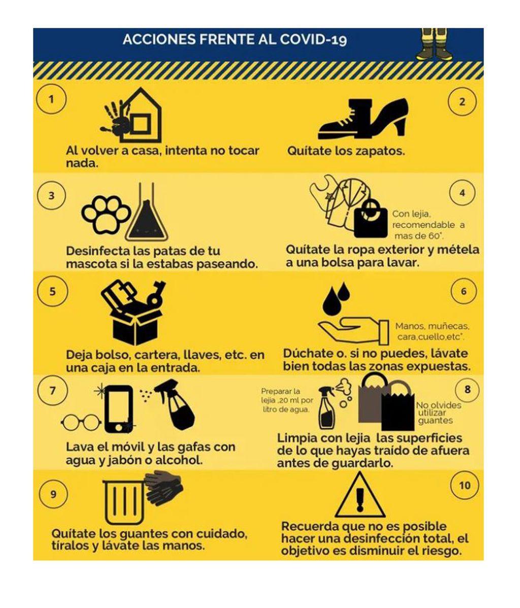 Medidas de seguridad para entrar en casa seguros