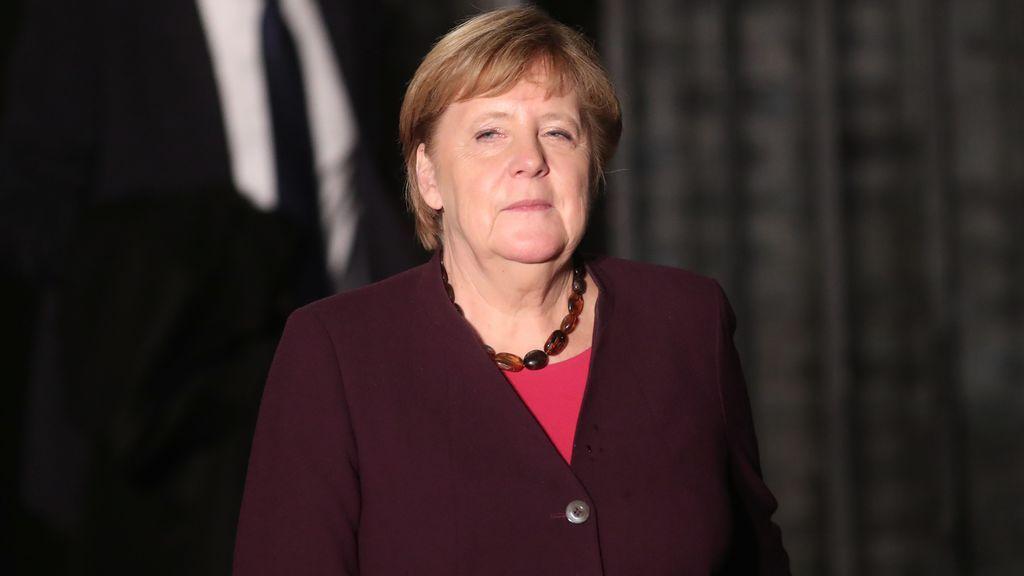Angela Merkel da negativo en la primera prueba de coronavirus