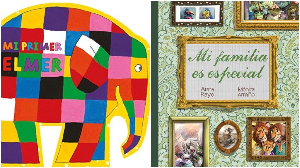 'Mi primer Elmer' y 'Mi familia es especial'.