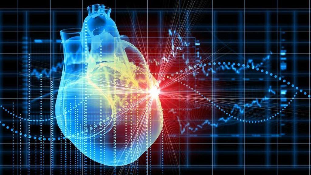 La imagen de un corazón.