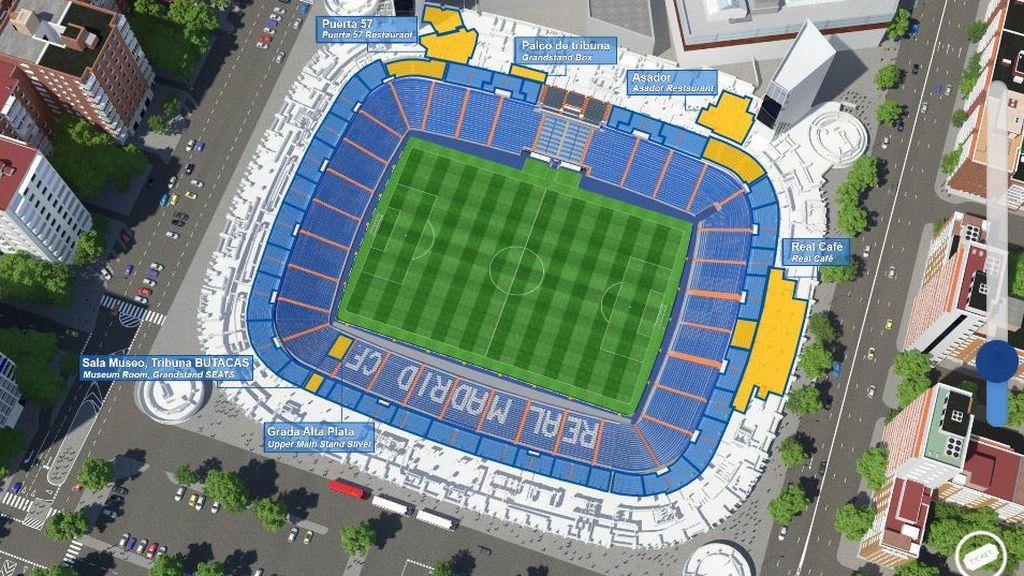 Real Madrid Tour Virtual