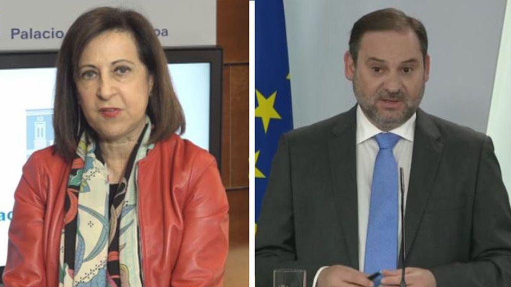 Margarita Robles Y José Luis Ábalos