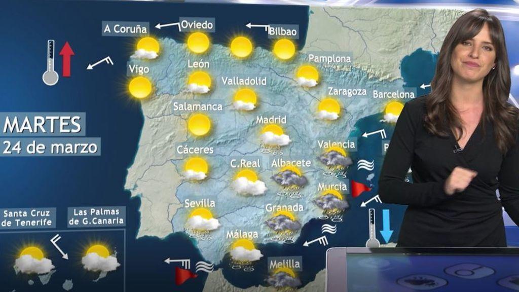 La primavera arranca tormentosa: el Mediterráneo y Canarias se preparan para un fuerte temporal
