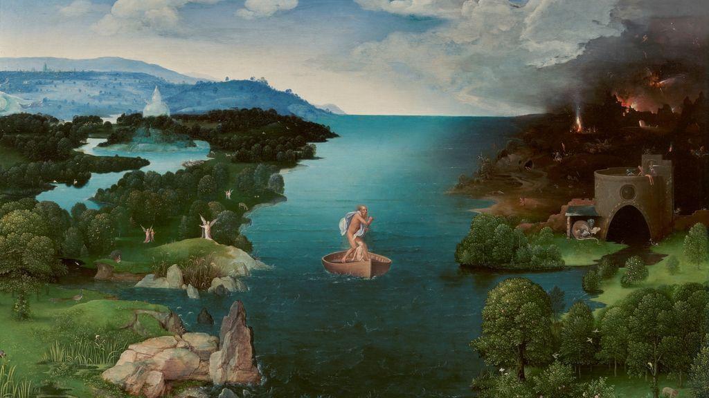 'Caronte cruzando la laguna Estigia', de Joaquim Patinir