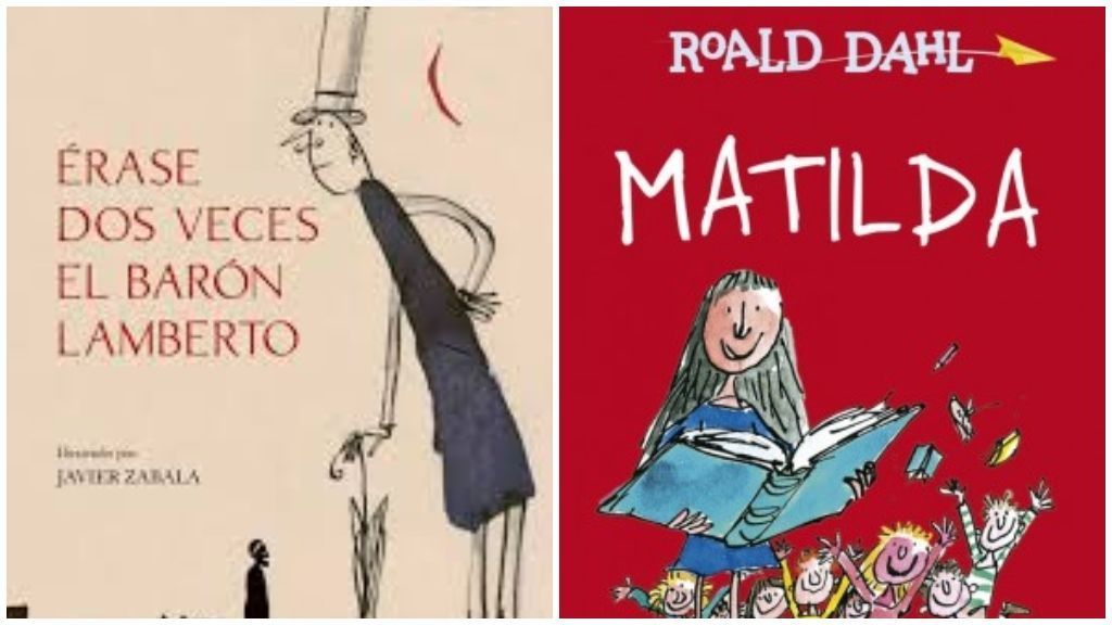 'Érase dos veces el barón Lamberto' y 'Matilda'.