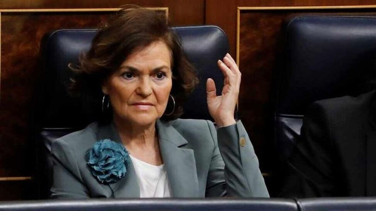 Carmen Calvo, positivo por coronavirus