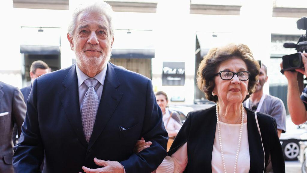Plácido Domingo y Marta Ornelas (2019)