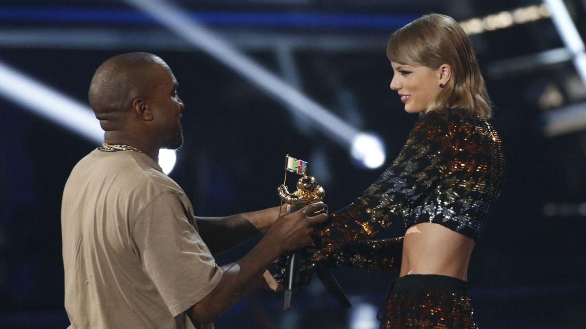 Kim Kardashian ataca a Taylor Swift tras filtrarse una conversación con su marido Kanye West