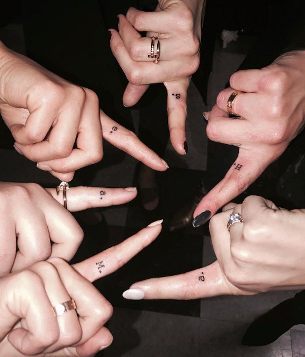 Lucy Hale tatuaje 'Pequeñas Mentirosas'