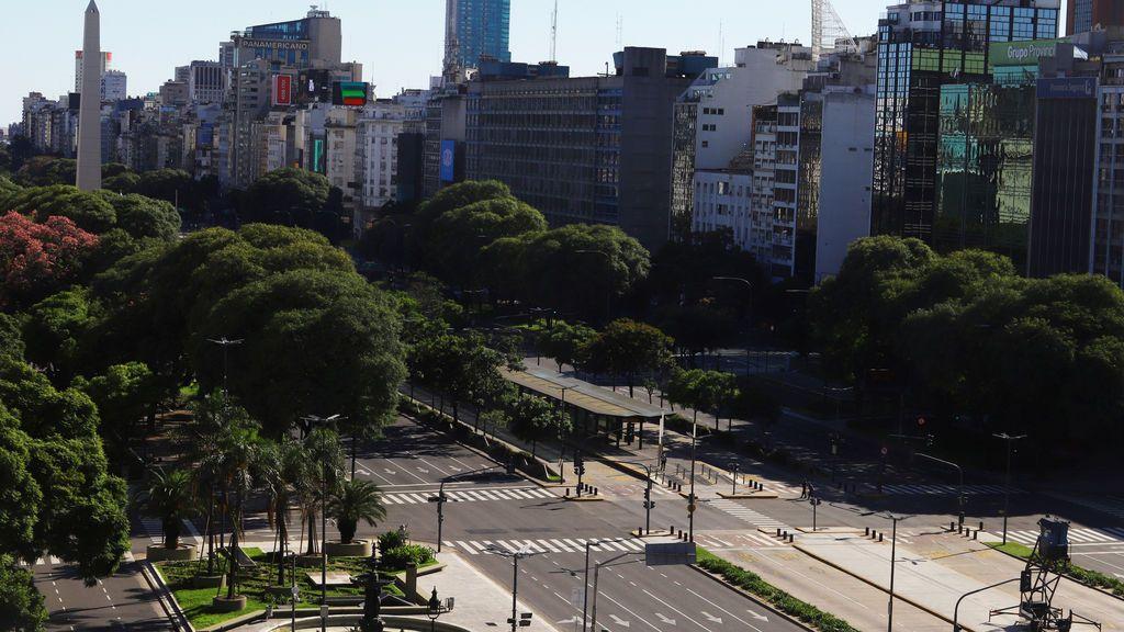 Avenida 9 de julio. Buenos Aires (Argentina)
