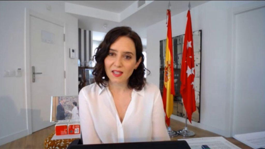 Ayuso propone un monumento a sanitarios y víctimas del coronavirus en Madrid Nuevo Norte