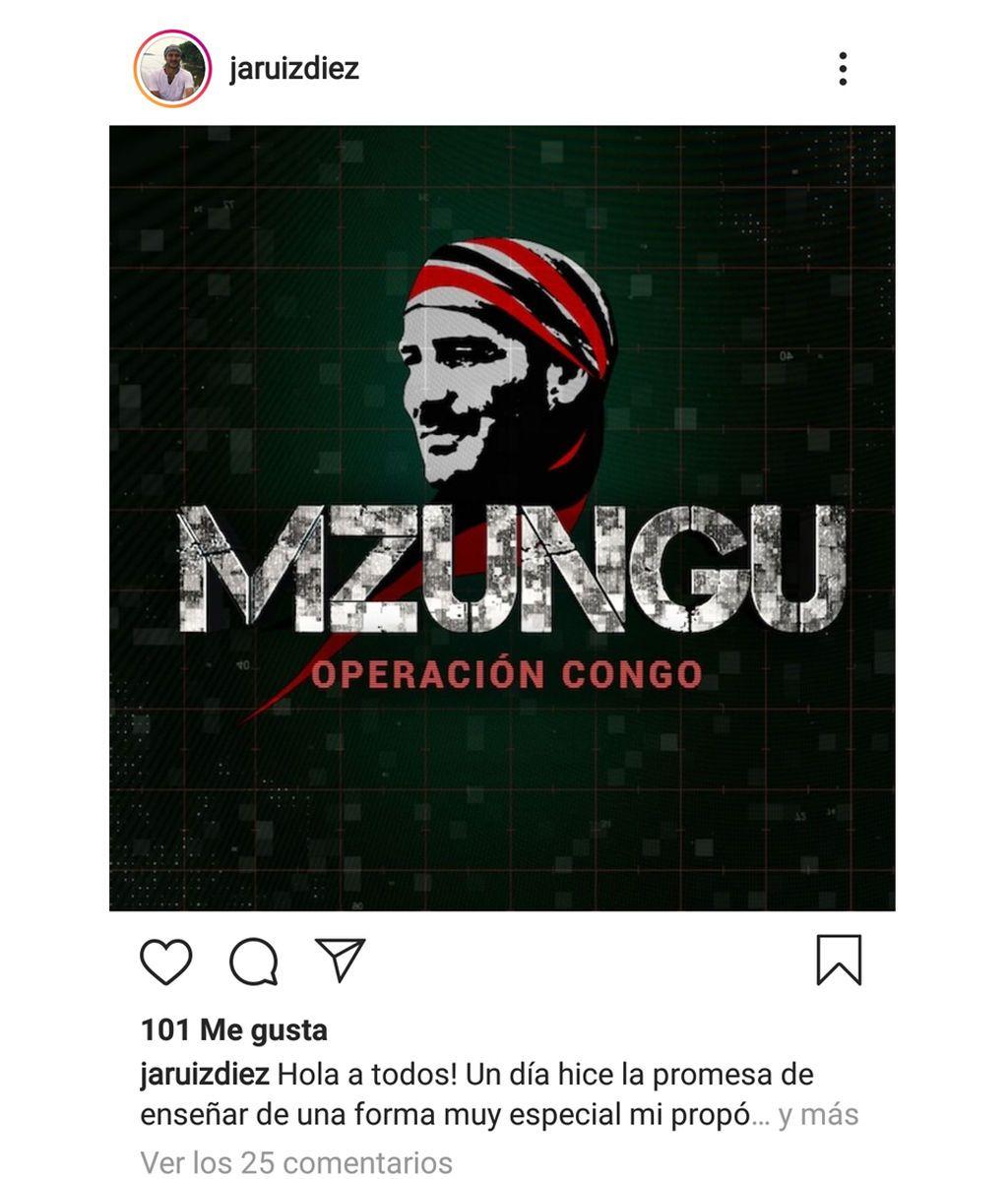 'Mzungo. Operación Congo'