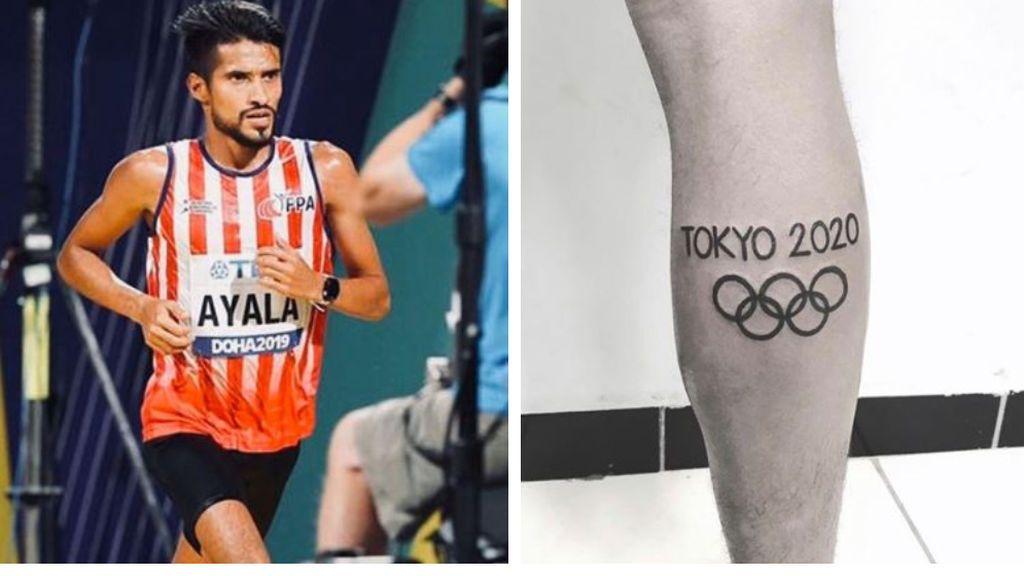 Un atleta se tatúa el logo de los Juegos Olímpicos de Tokio 2020 y ahora pide ayuda para borrarlo