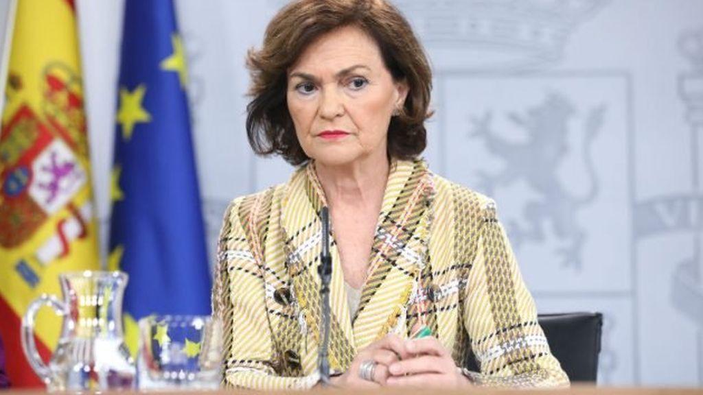 El resultado final lo confirma: la vicepresidenta Carmen Calvo ha dado positivo en COVID 19