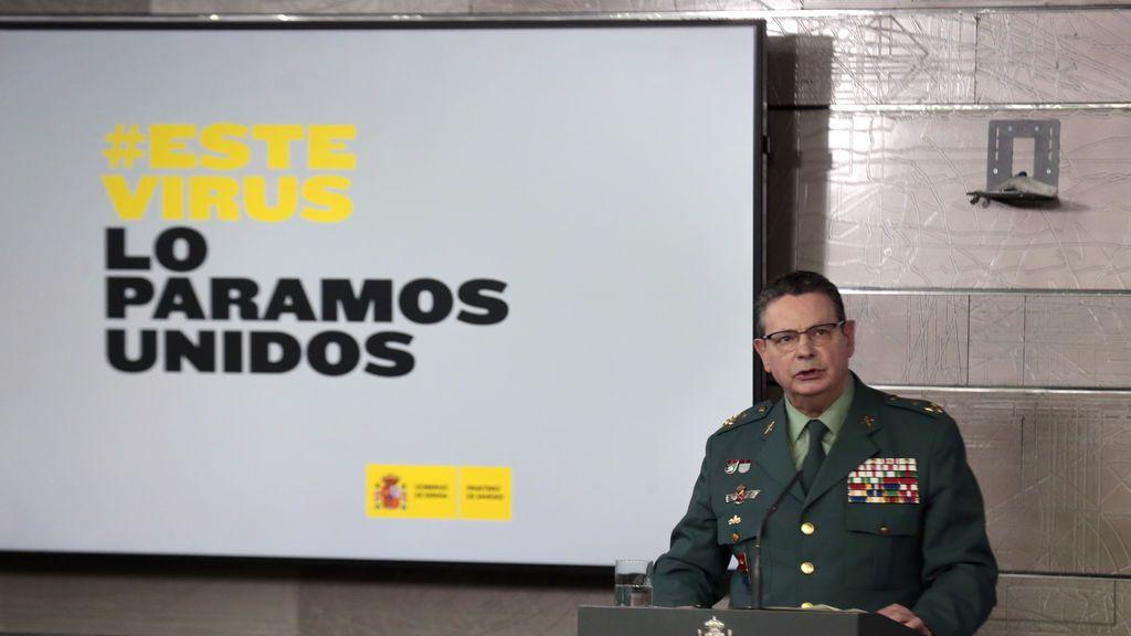 Laurentino Ceña, director adjunto de la Guardia Civil, positivo por coronavirus