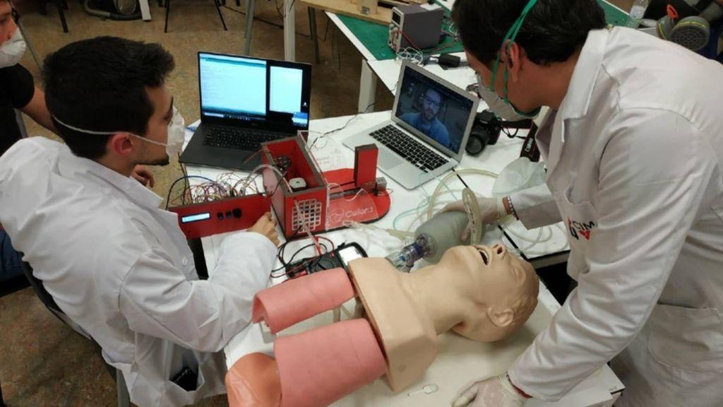 La Universidad Rey Juan Carlos crea un respirador de bajo coste