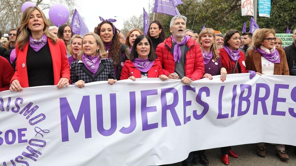 El Gobierno adelanta a la semana anterior a las manifestaciones del 8-M el pico de contagios en Madrid.