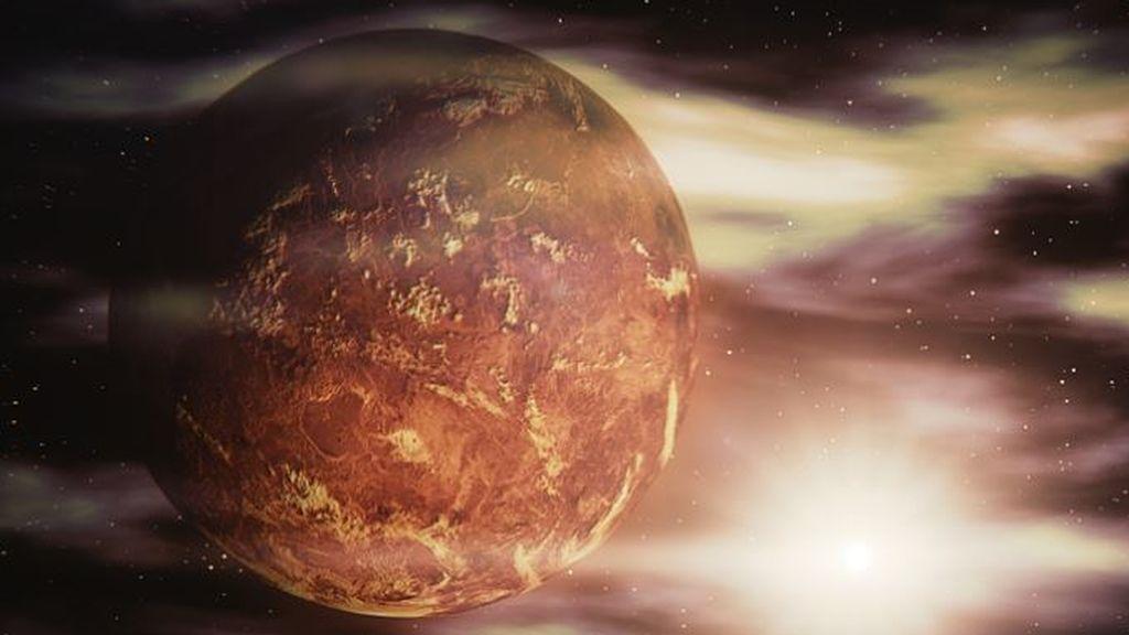 Venus, especialmente visible desde las ventanas al anochecer por su brillo y su posición