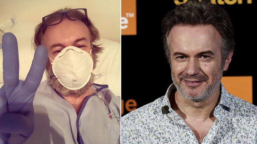 El actor Tristán Ulloa muestra su lucha contra el coronavirus desde el hospital
