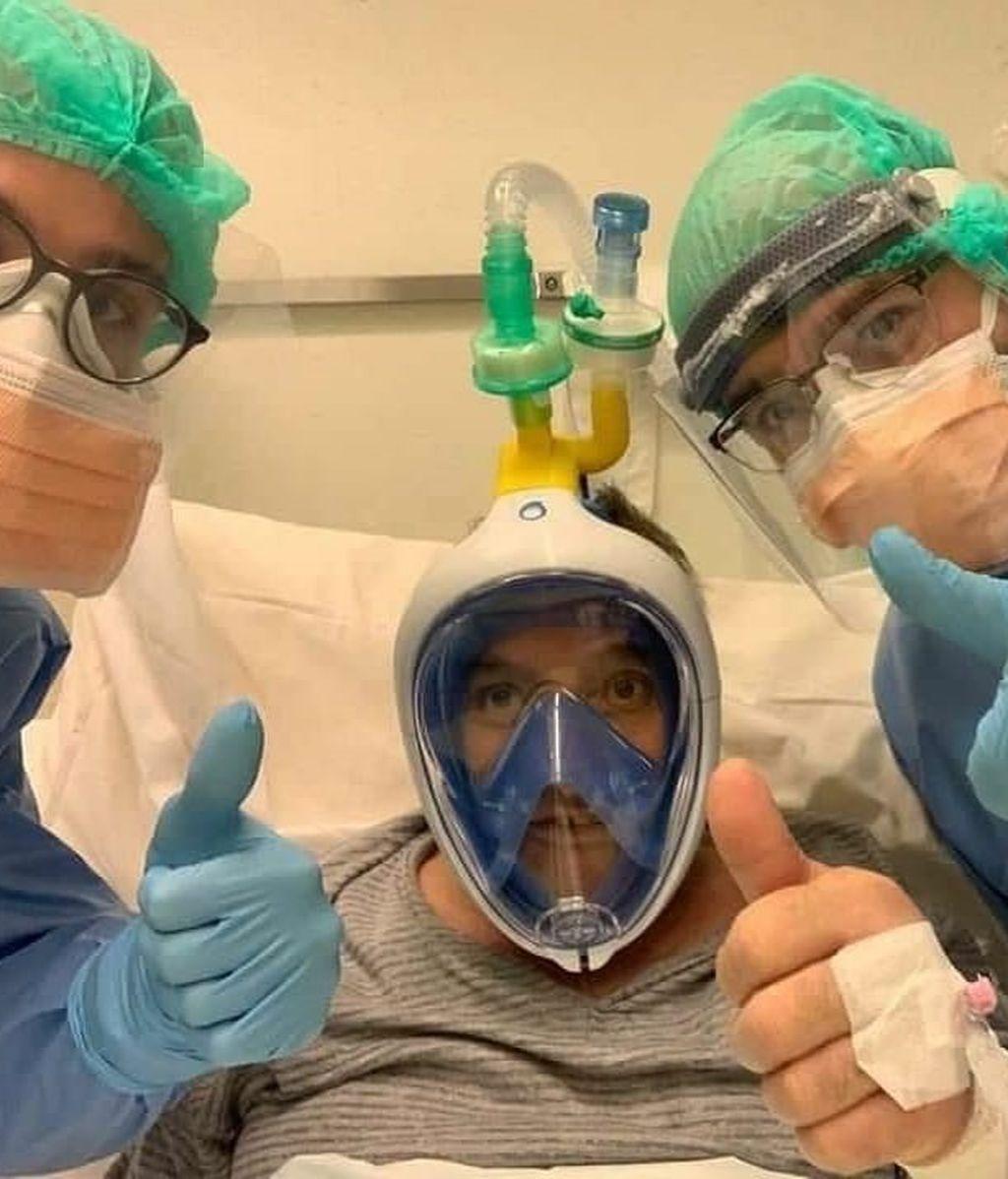 Decathlon cede sus gafas de buceo para destinarlas a los pacientes con coronavirus