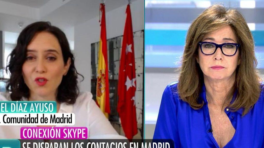 La entrevista completa de Isabel Díaz Ayuso, Presidenta de la Comunidad de Madrid, complet