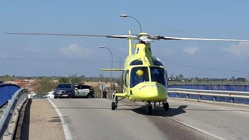 Atropellado un guardia civil en Toledo al saltarse un vehículo un control para evitar desplazamientos