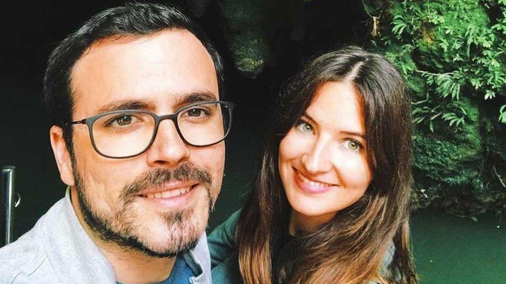 Alberto Garzón y Anna