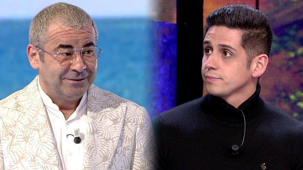 "Jorge Javier le echa un cable a Christofer: ""Eres muy sufrido"""