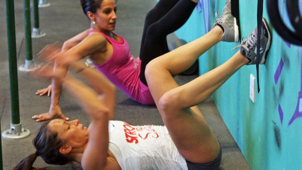 ejercicios AFAP en Crossfit
